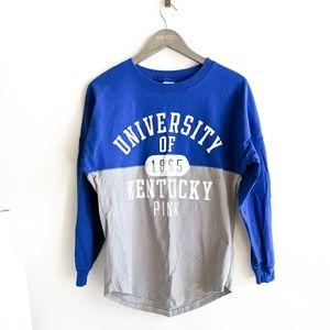 VS Pink University of Kentucky UK Long Sleeve Tee